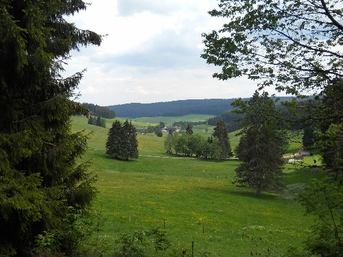 Blick in unser Tal